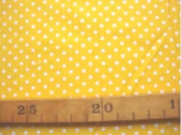 5n Babyrib Geel met stipjes 5148-35N