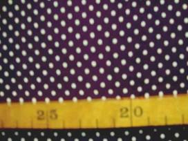 5r Babyrib Paars met stipjes 5148-45N