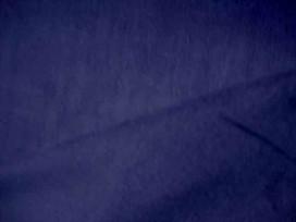 Babyrib, een donkerblauwe soepelvallende effen babyrib corduroy. 100% katoen 1.45 meter. breed 145 gr/m2 21 Wales