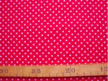 5p Babyrib Rood met stipjes 5148-15N