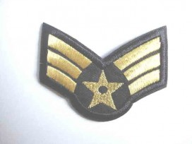 8t Leger applicatie Open ster Goud leger 29