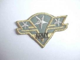 Leger applicatie 3 sterren Zilver leger 35