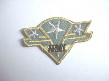 8z Leger applicatie 3 sterren Zilver leger 35