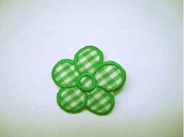 Groene boerenbont bloem  applicatie