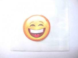 Smiley applicatie klein met big smile