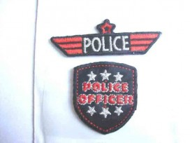Jongens applicatie Police officer 2 app.