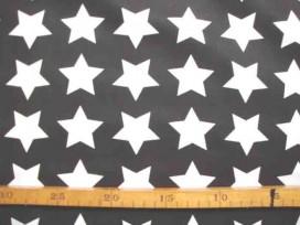 5n Katoen Zwart/Wit Grote Ster 2478-69N