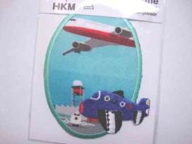 Applicatie Aqua ovaal met vliegtuigen 32474