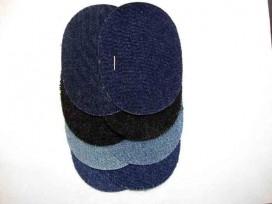 Kniestukken 4 paar in 4 kleuren jeans mini