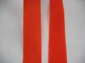 Klitteband Oranje opnaaibaar  3cm breed
