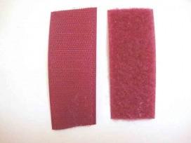 Klitteband Fuchia opnaaibaar  3cm breed