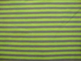 Tricot Ton sur ton Streepjes Lime/Grijs 3993-54N