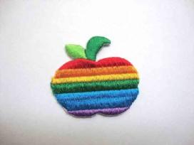 Regenboog applicatie Appel