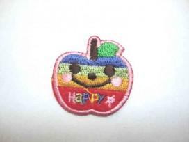 Regenboog applicatie Happy Appel