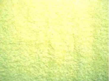 Badstof per meter Citroengeel