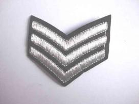 8u Leger applicatie 3 x V grootst Zilver leger 40