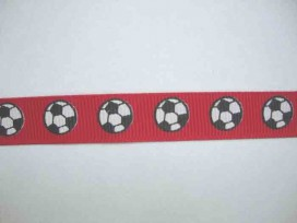 4t Ribsband Voetbal Rood RVRood
