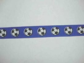 4v Ribsband Voetbal Blauw RVBlauw