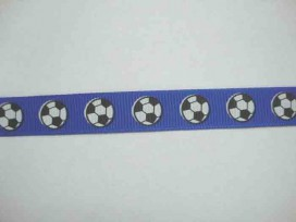 Ribsband Voetbal Blauw RVBlauw