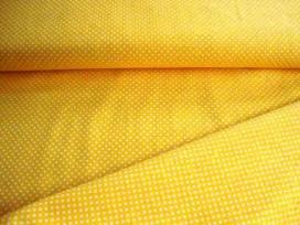 Mini stip katoen Geel/wit 5575-35N