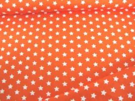 Sterretje katoen Oranje/wit 1266-36N