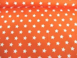 Ster katoen Oranje/wit 5571-36N