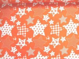 5r Stermotief Oranje/wit 5649-36N