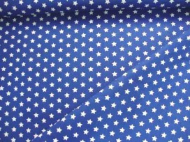 Sterretje katoen Blauw/wit 1266-5N