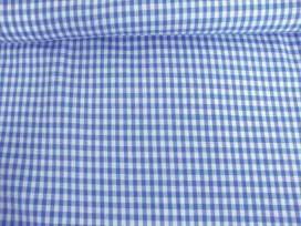 BB ruit 5x5mm. Jeansblauw 5582-6N