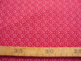 Dapper Quilt 1 Mini fleur/stipje Warmrood