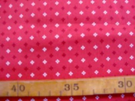 Dapper Quilt 5 Mini patroon Warmrood 3233-15N