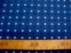 Dapper Quilt 5 Mini patroon Oudblauw 3233-08N