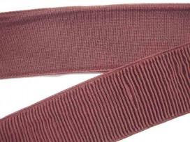 Boordband elastisch Donkerbruin