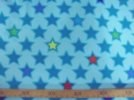 5e Softshell Mintgroen met ster 4141-22N