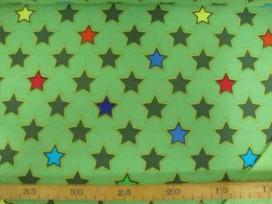 Softshell Limegroen met ster 4141-23N