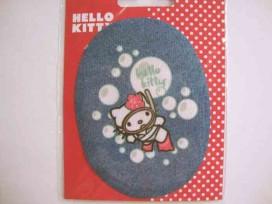 Hello Kitty ovaal jeans Met duikbril
