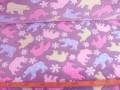 Zijdefleece Lichtgrijs met ijsbeertjes 4007-3076G