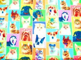 Decoratiestof Digital Hond/Kat 1310-69N