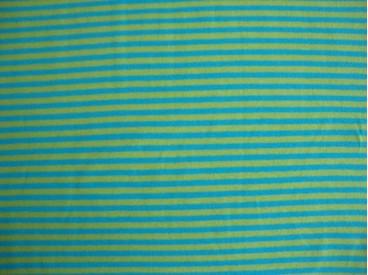 5f Tricot N Ton sur ton Streepjes Lime/aqua 3993-4N