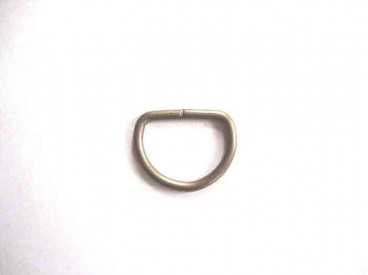 D-Ring Brons 25mm.