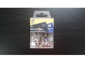 Nestelogen Zilver 8mm