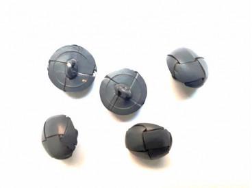 Leerknoop Grijs 15mm lk510