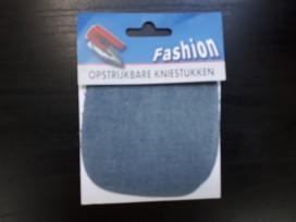 Kniestukken  Licht Jeans
