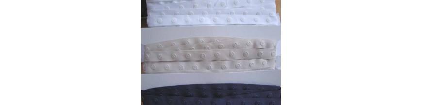 Drukkertjesband en breed drukkersband