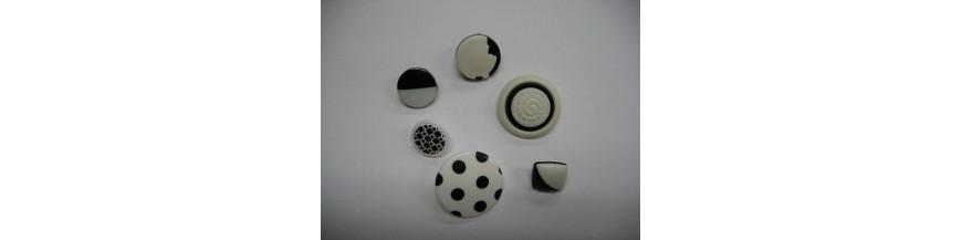 Zwart/wit knopen