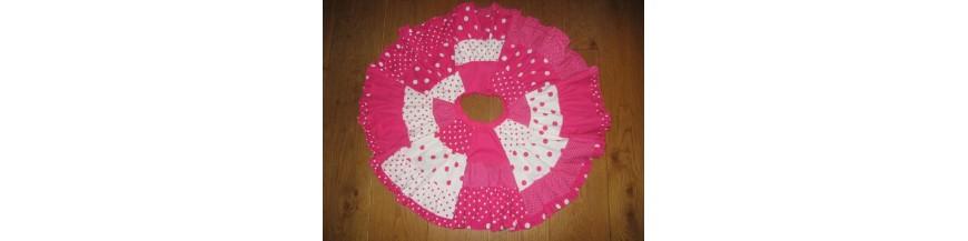 C Pink boerenbont en stip