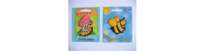 Iron on patches kinder applicaties