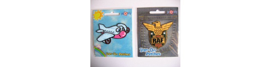 Iron on boys patches