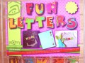 Iron-on Fun letters