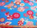 Antipilling fleece met bloem